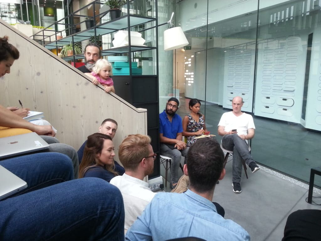 Pitch Training Session by Max Techstars London