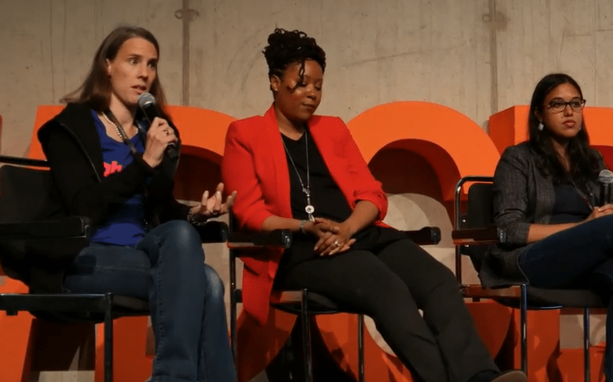 women in tech droidcon berlin 2018 moderator diversity equal opportunity