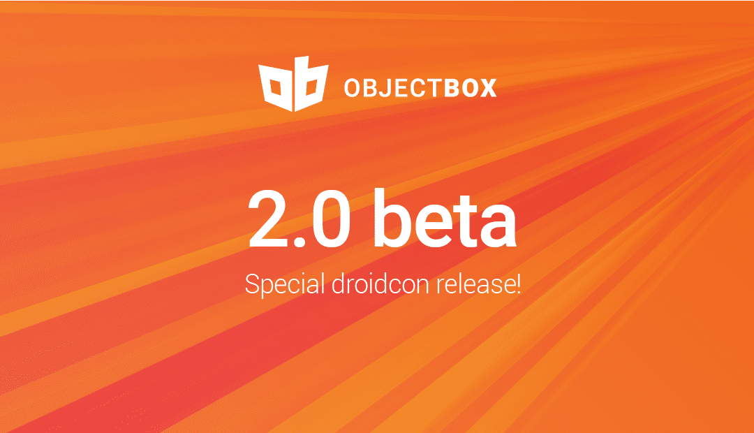 ObjectBox 2.0 beta with Links (aka Joins)