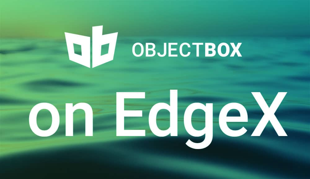 ObjectBox EdgeX Release (Beta)