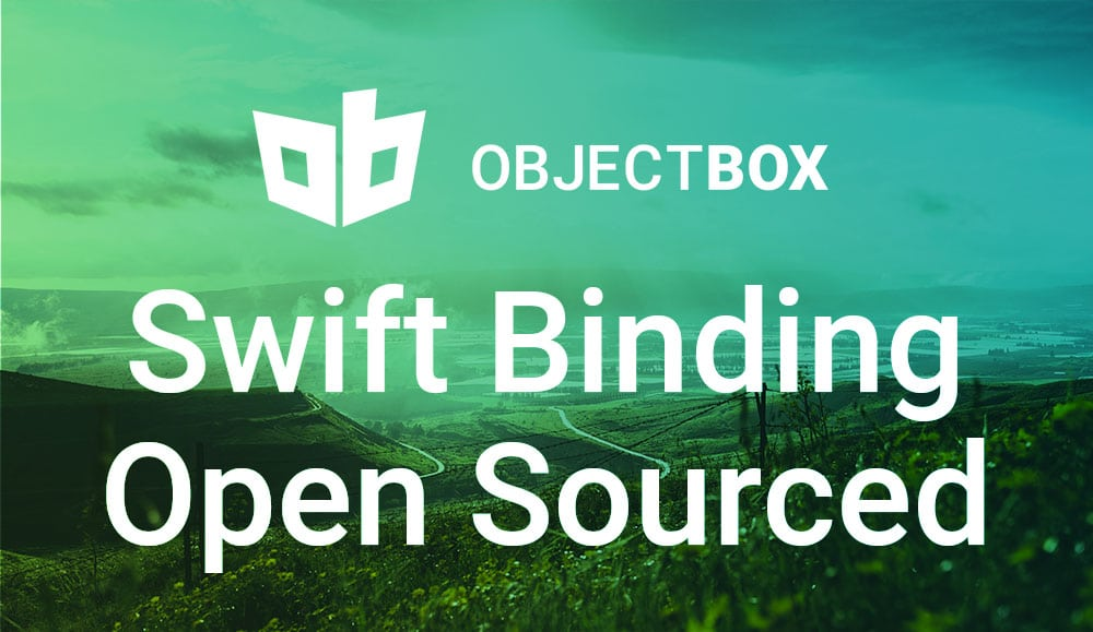 ObjectBox Swift Binding Open Sourced