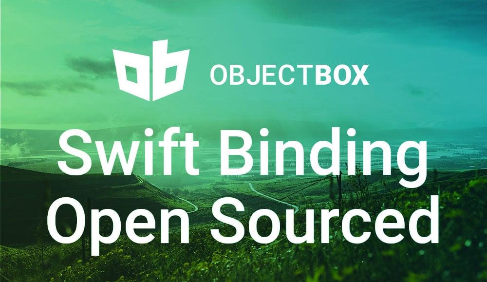 ObjectBox Swift Binding Open Sourced