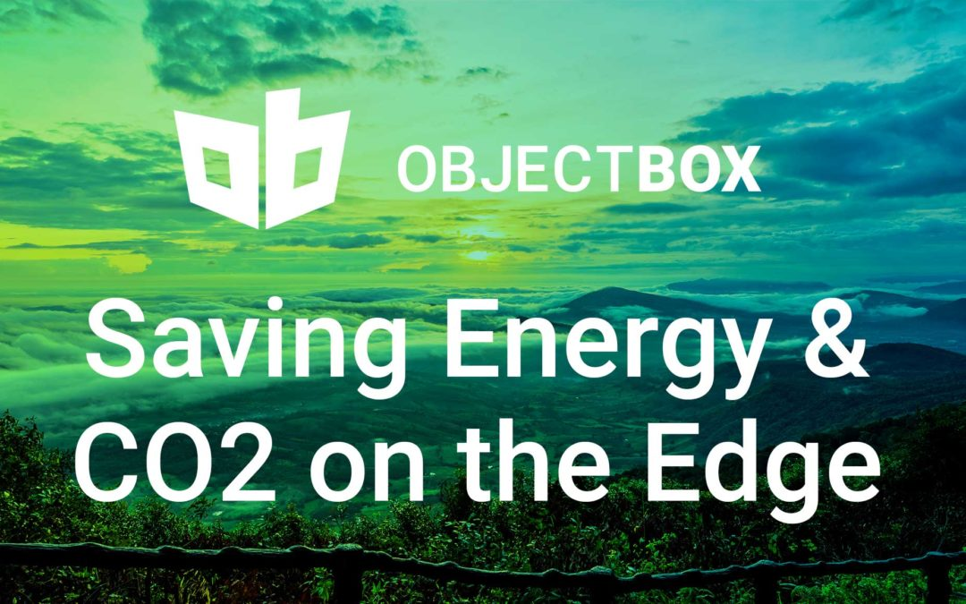 How Building Green IoT Solutions on the Edge Can Help Save Energy and CO2