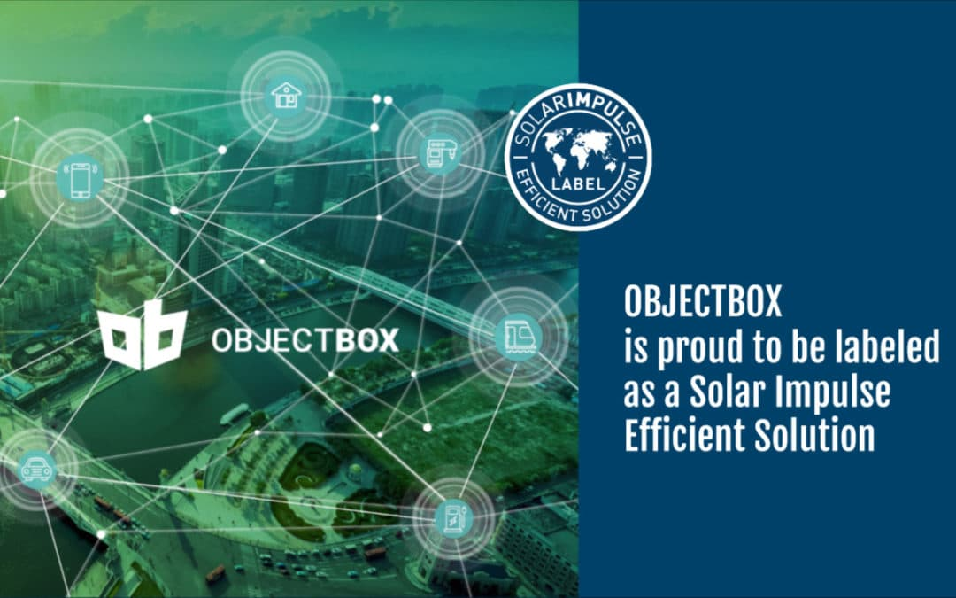 ObjectBox Recognized as a Sustainable Profitable Tech Solution by the Solar Impulse Foundation