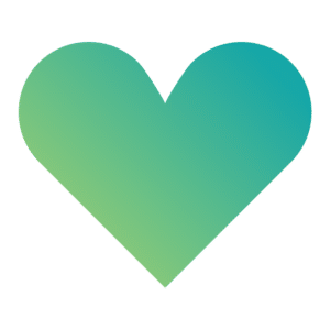 heart share thank you startup