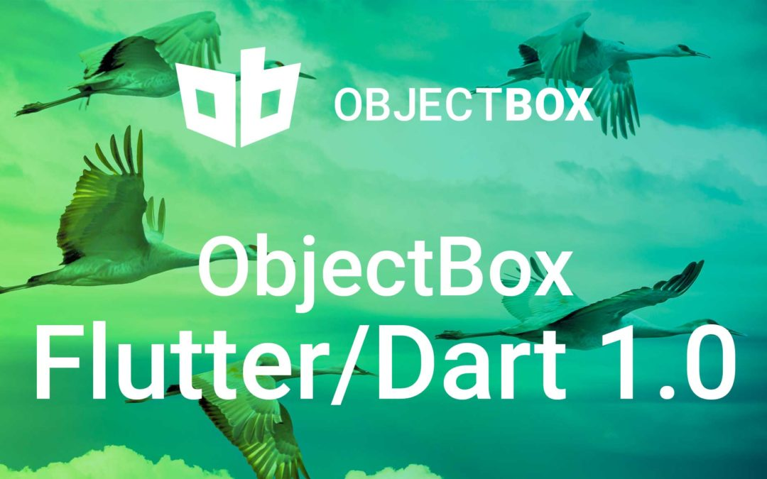 Dart Flutter Database ObjectBox 1.0 Release